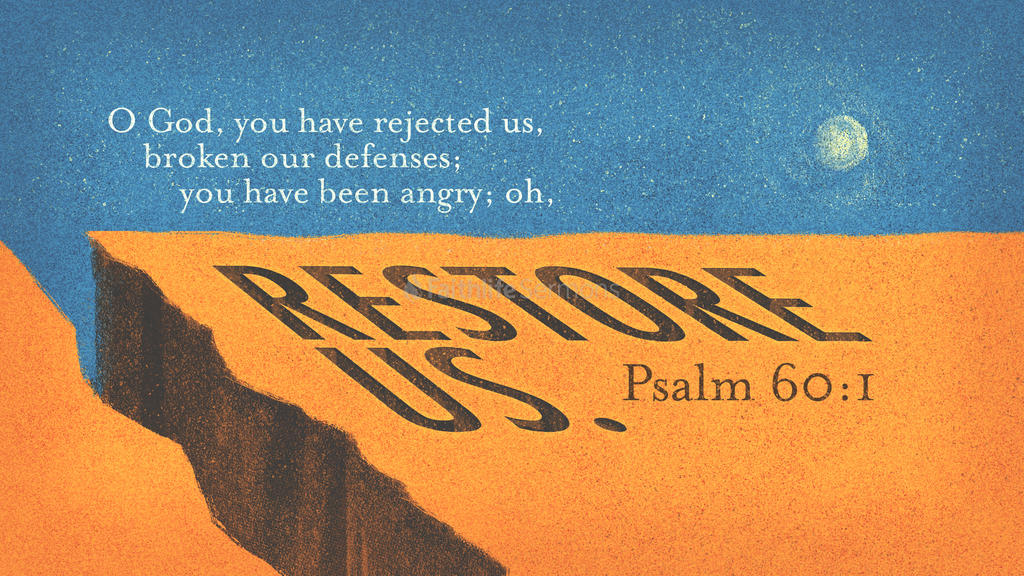 Psalm 60:1 large preview