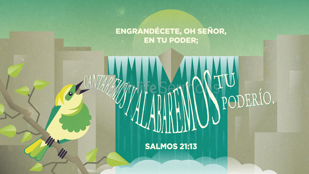 Salmo 21.13 large preview