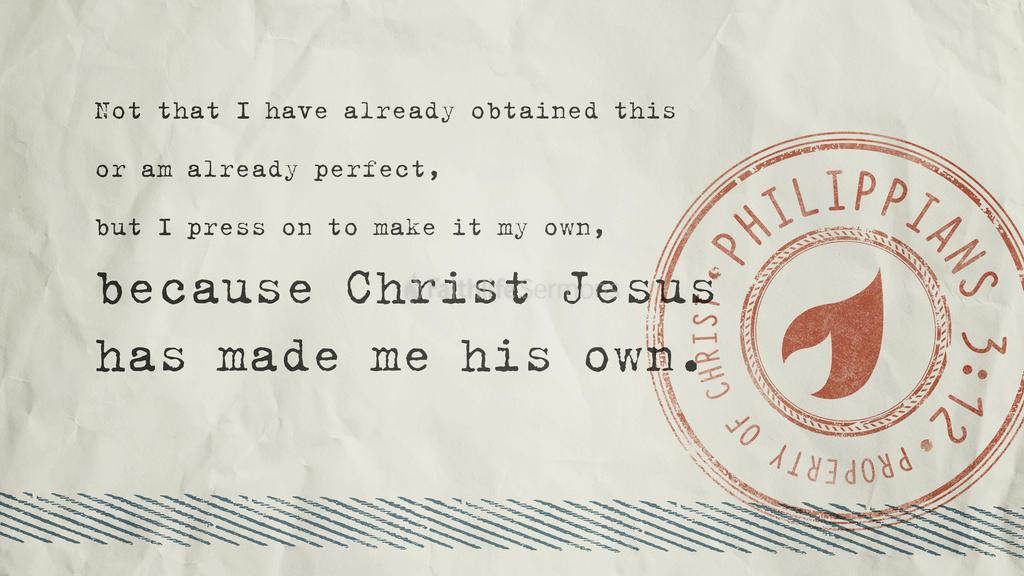 Philippians 3:12 large preview