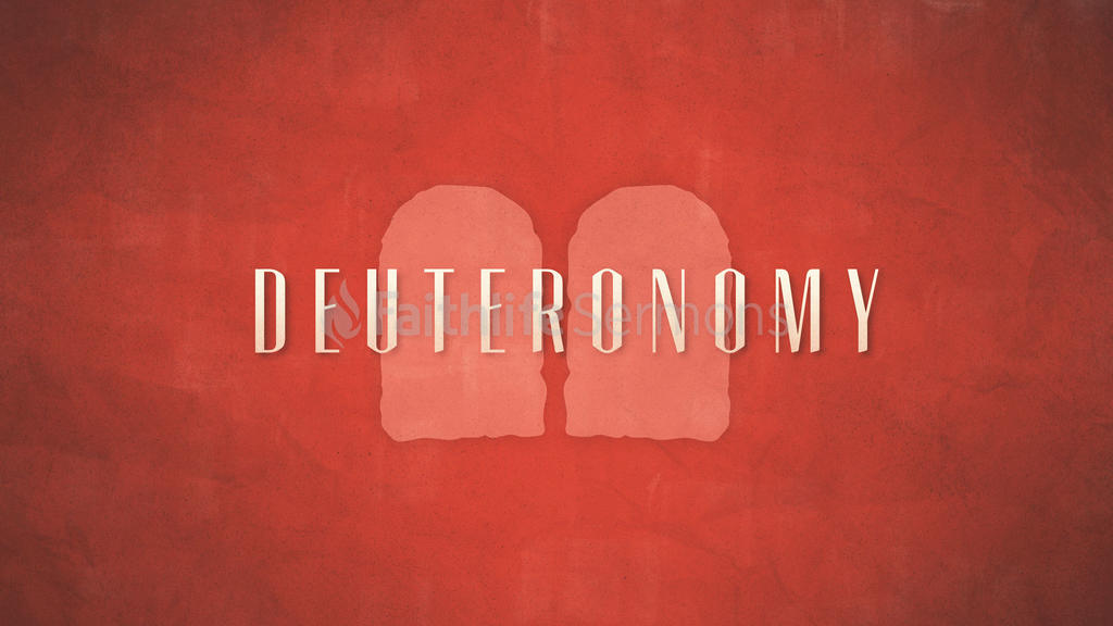 Deuteronomy large preview