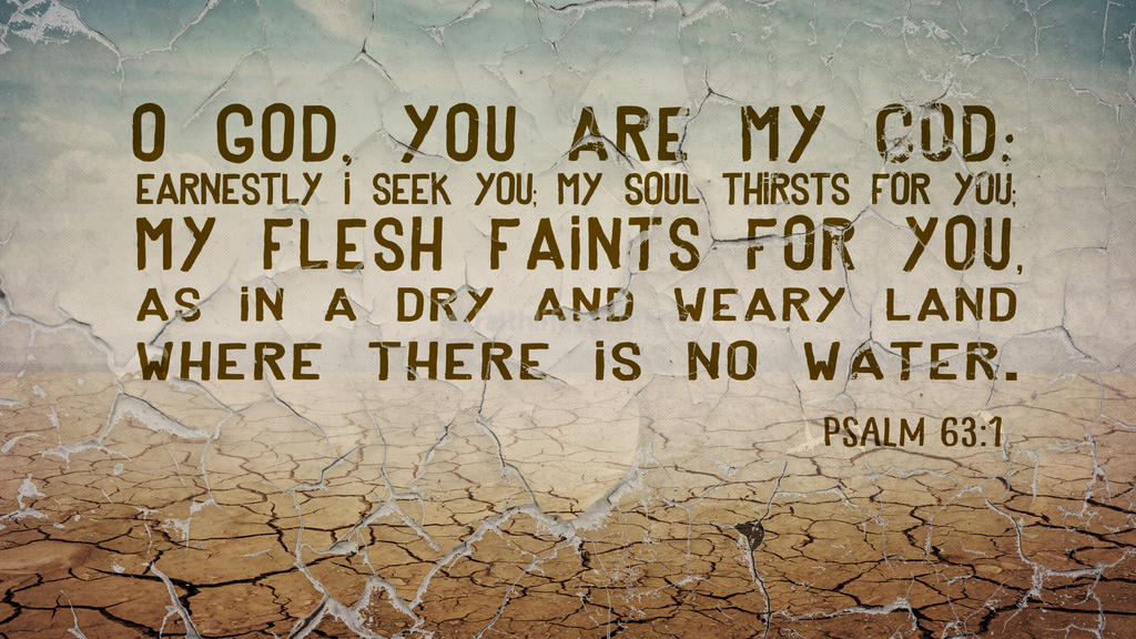 Psalm 63:1 large preview