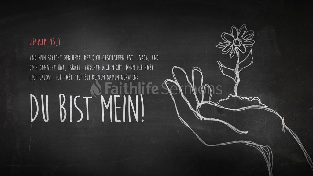 Jesaja 43,1 large preview