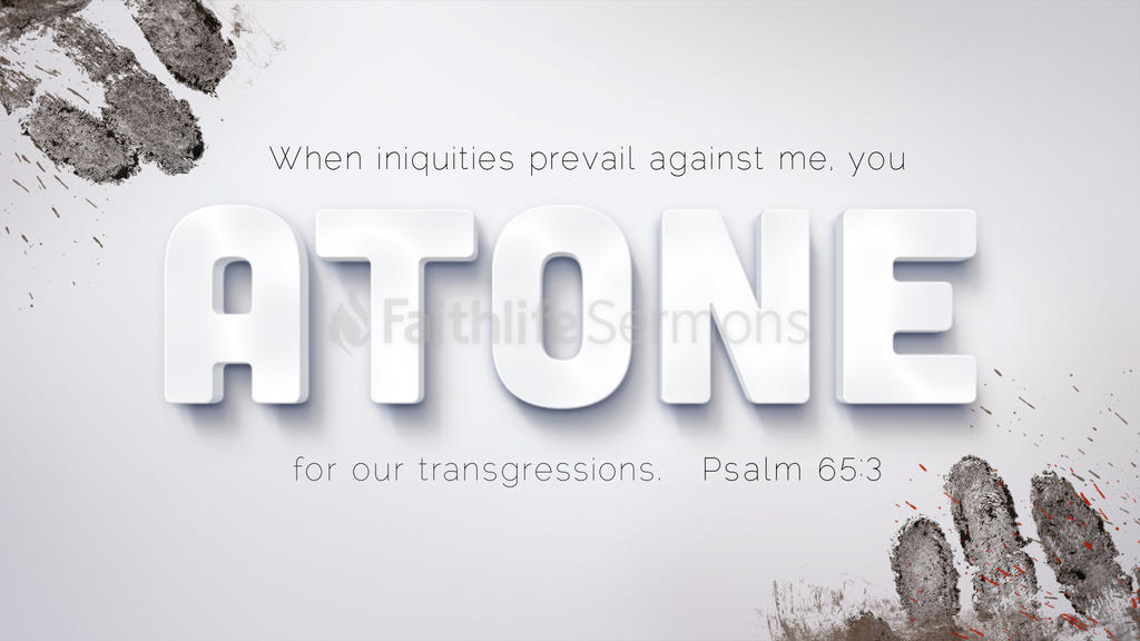 Psalm 65:3 large preview
