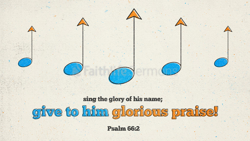 Psalm 66:2 large preview