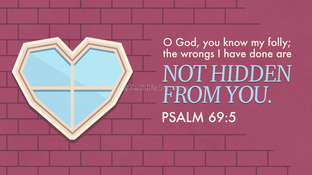 Psalm 69:5 large preview