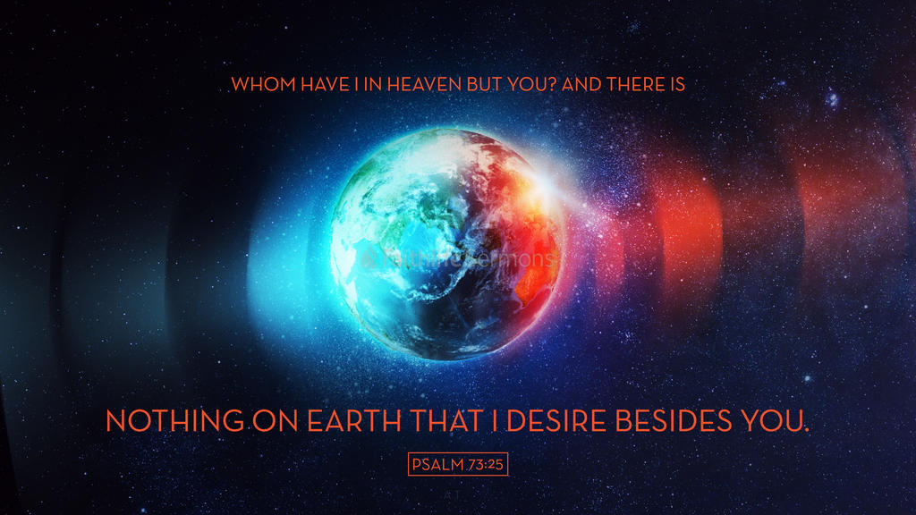 Psalm 73:25 large preview