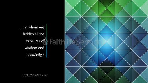 Colossians 2:3