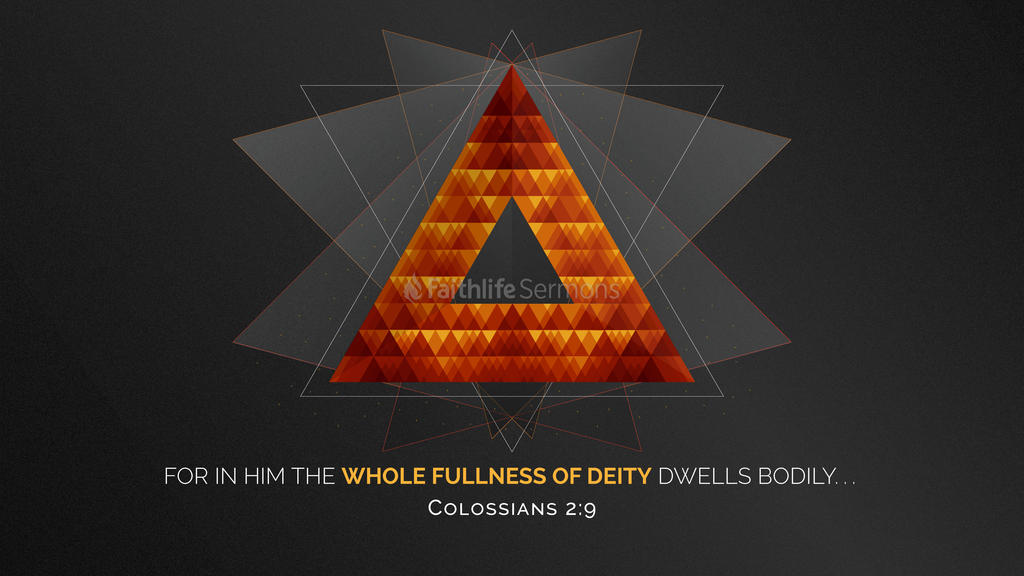 Colossians 2:9 large preview