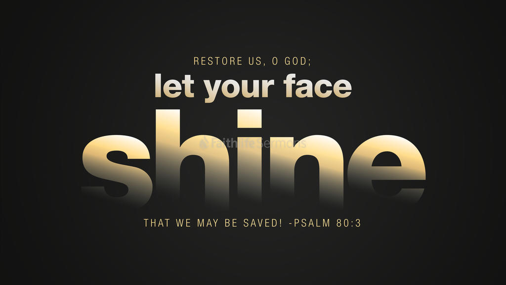 Psalm 80:3 large preview