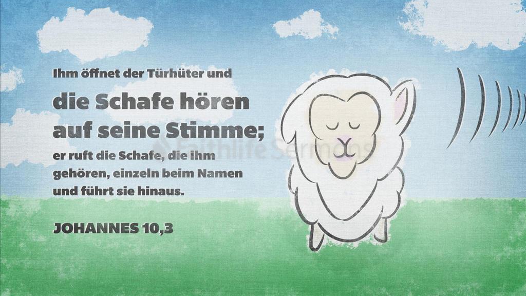 Johannes 10,3 16x9 preview