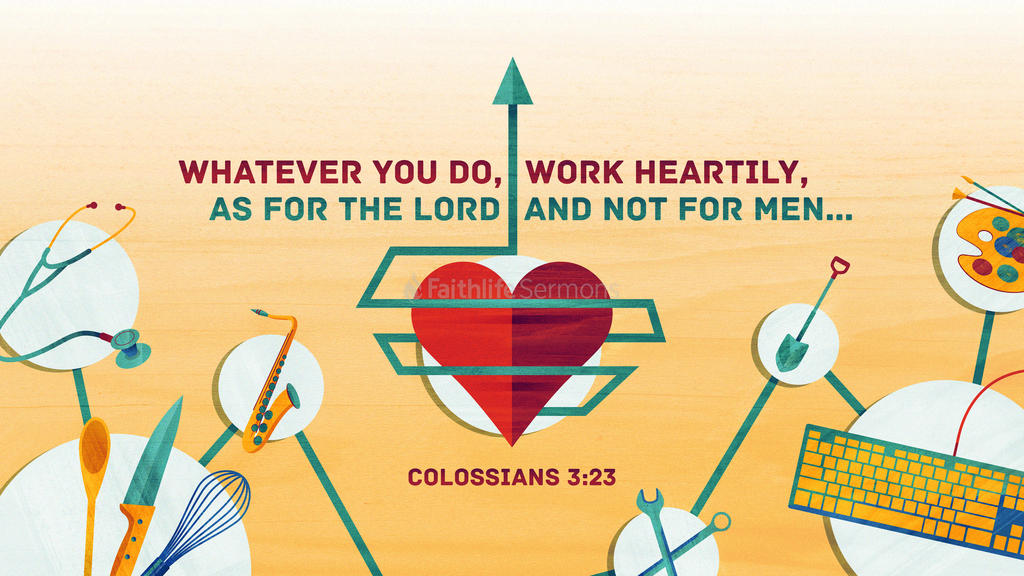 Colossians 3:23 large preview