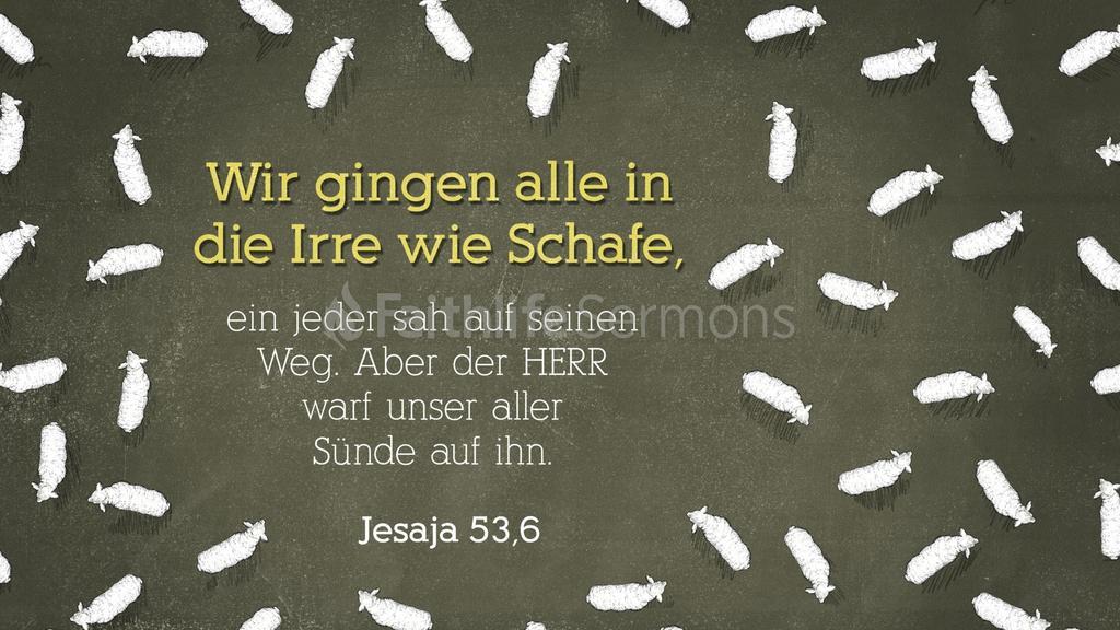 Jesaja 53,6 large preview