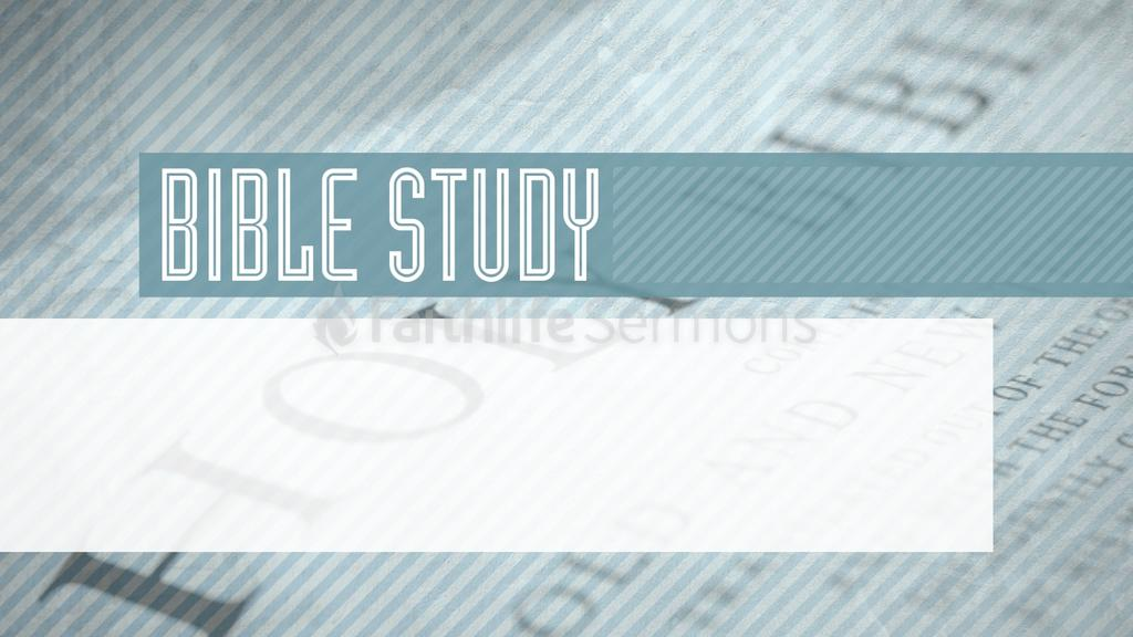 Bible Study Graphics For The Church