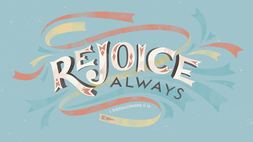 1 Thessalonians 5:16 large preview