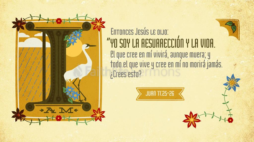 Juan 11.25–26 large preview