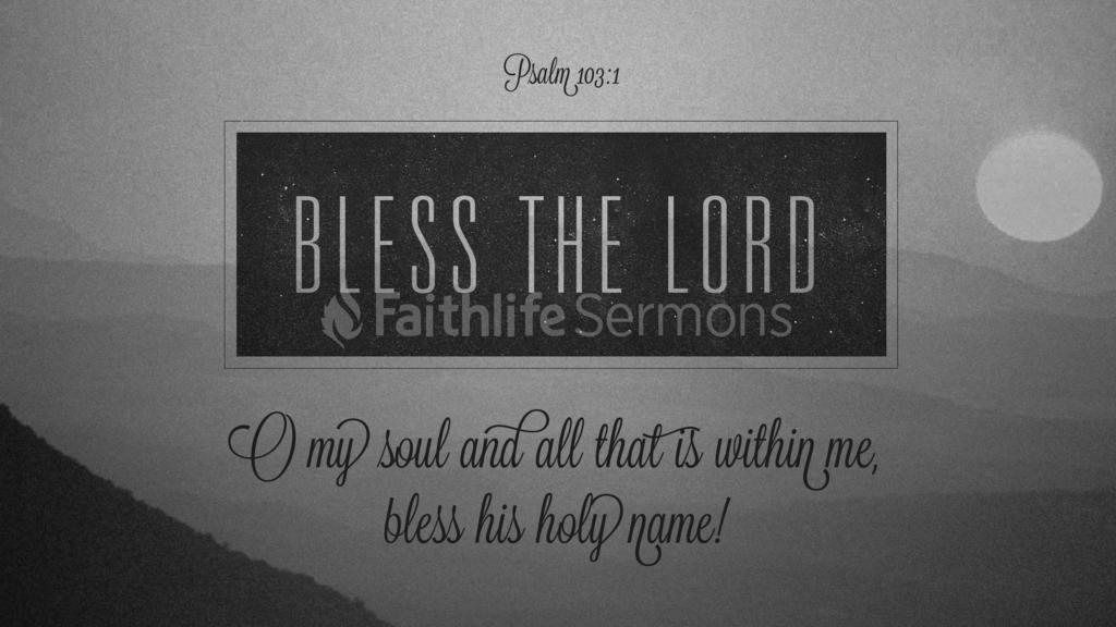 Psalm 103:1 large preview