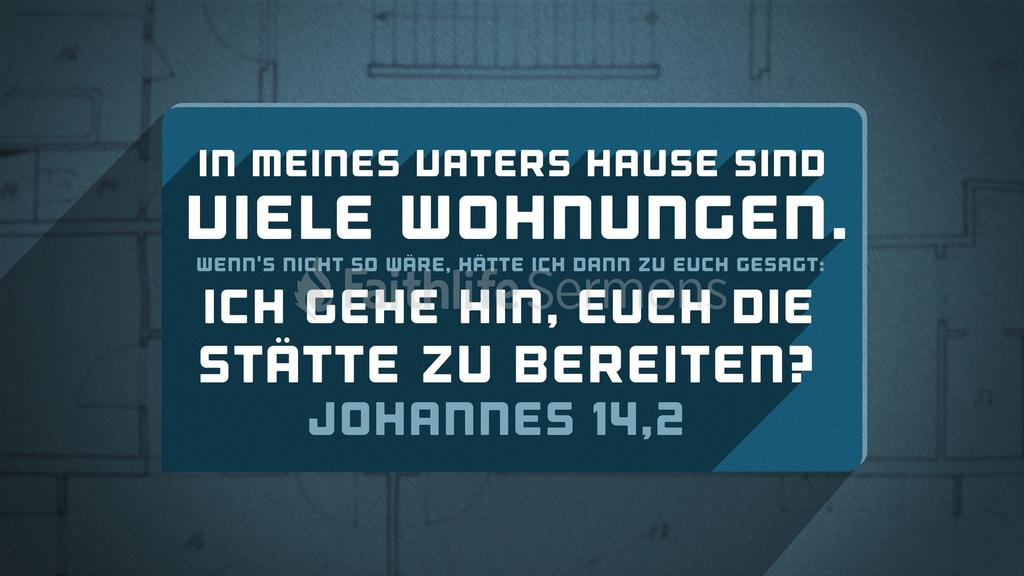 Johannes 14,2 large preview