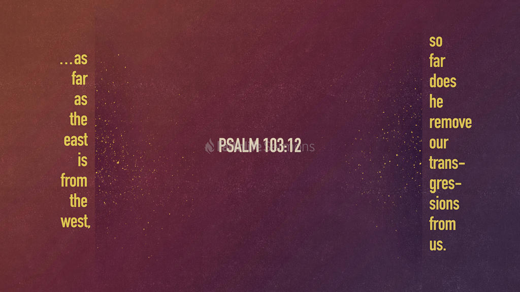 Psalm 103:12 large preview