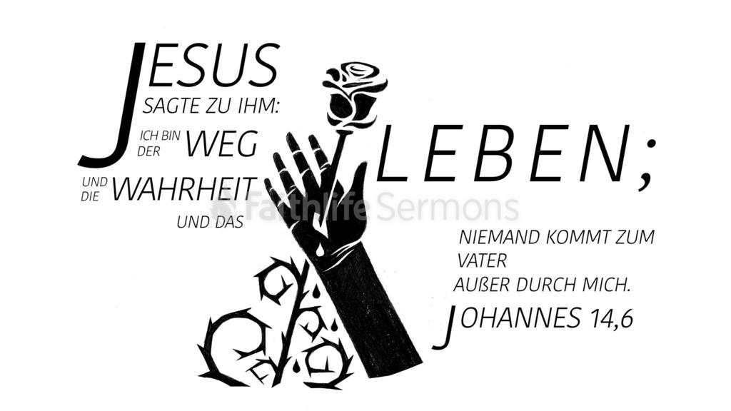 Johannes 14,6 large preview