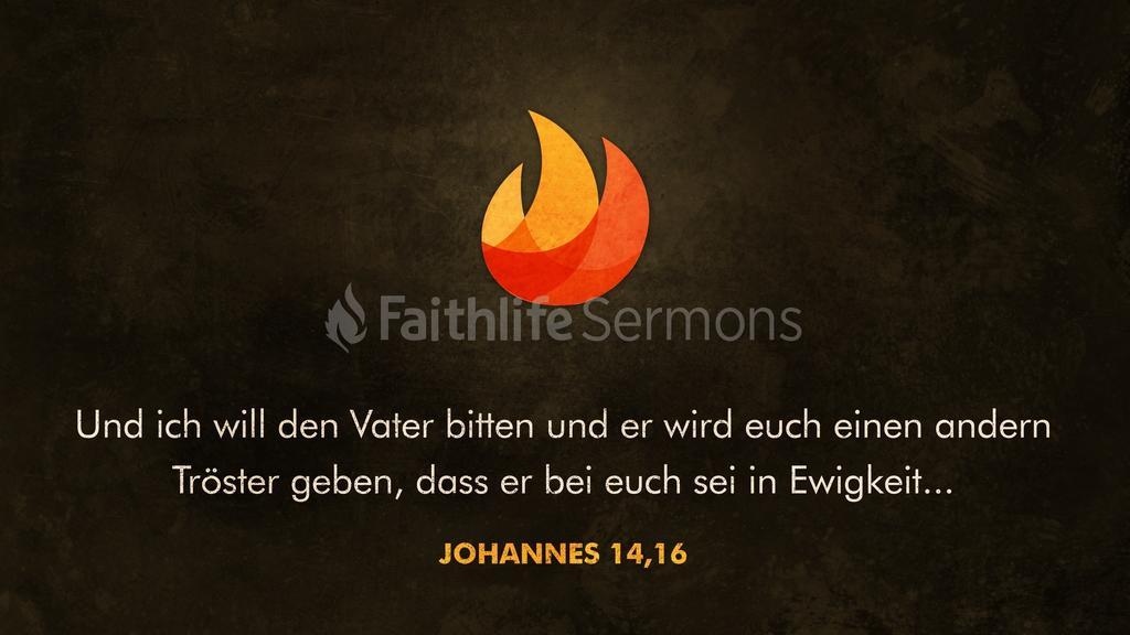 Johannes 14,16 16x9 preview