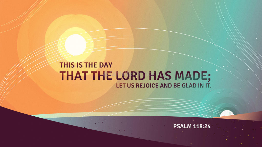 Psalm 118 24 3840x2160 preview