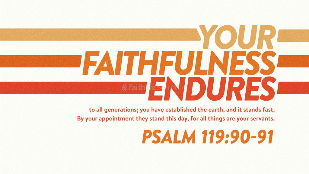 Psalm 119 90 91 3840x2160 preview