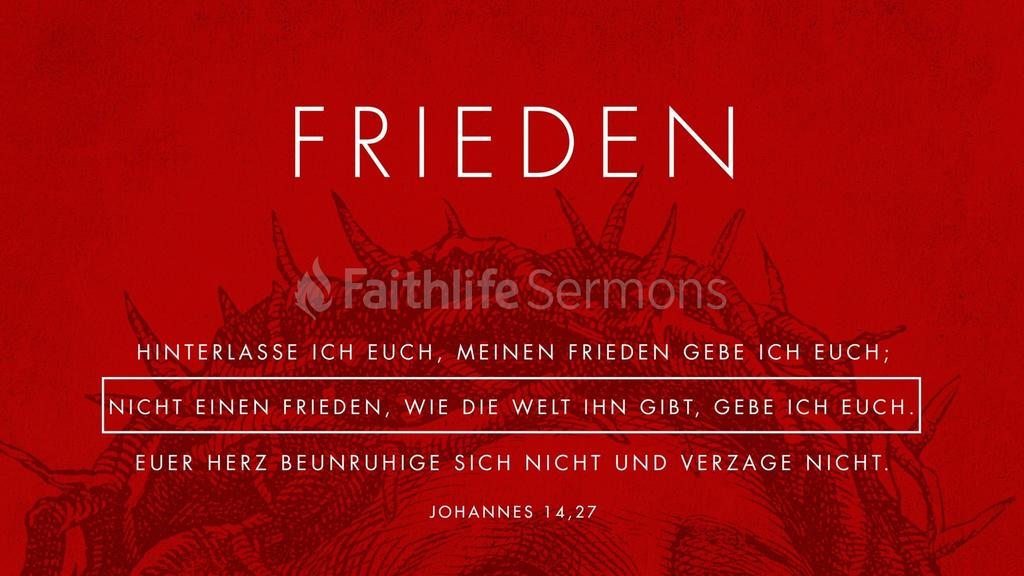 Johannes 14,27 large preview