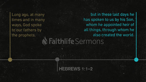Hebrews 1:1–2