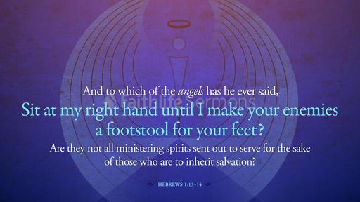 Hebrews 1:13–14