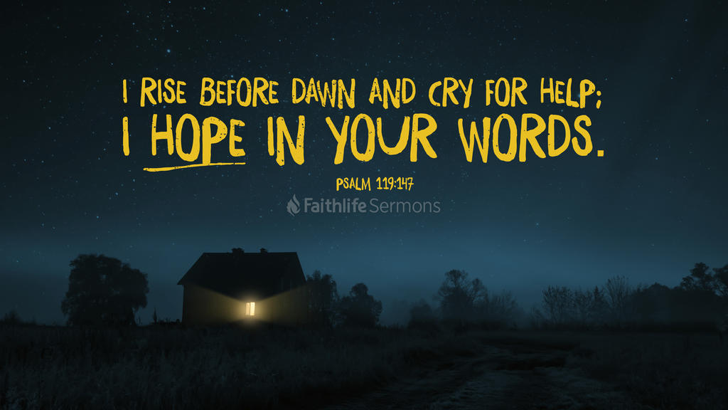 Psalm 119 147 3840x2160 preview