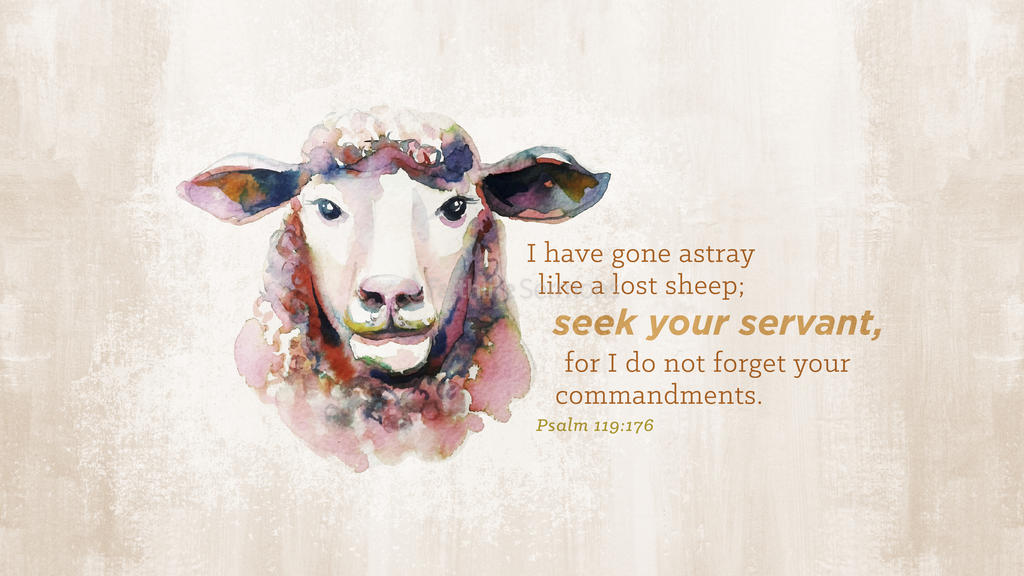 Psalm 119:176 large preview