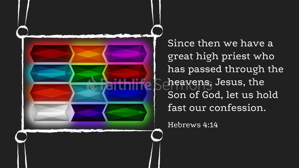 Hebrews 4:14 large preview
