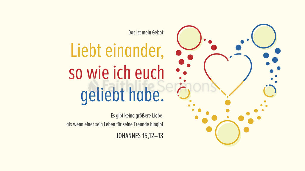 Johannes 15,12–13 large preview