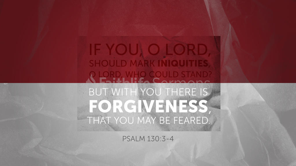 Psalm 130:3–4 large preview