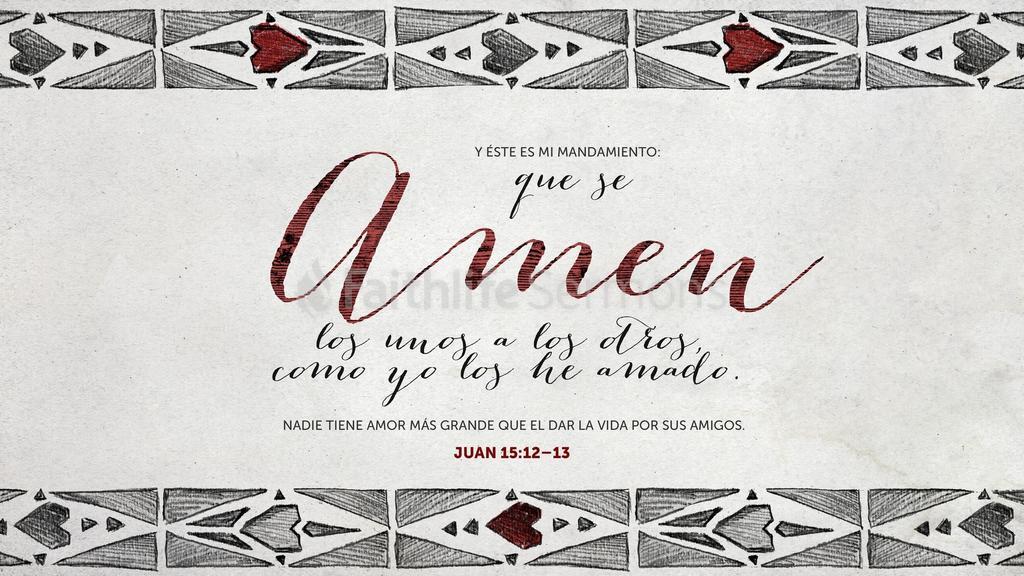 Juan 15.12–13 large preview
