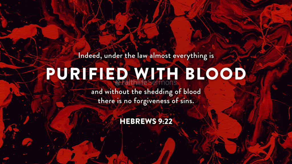 Hebrews 9:22 large preview