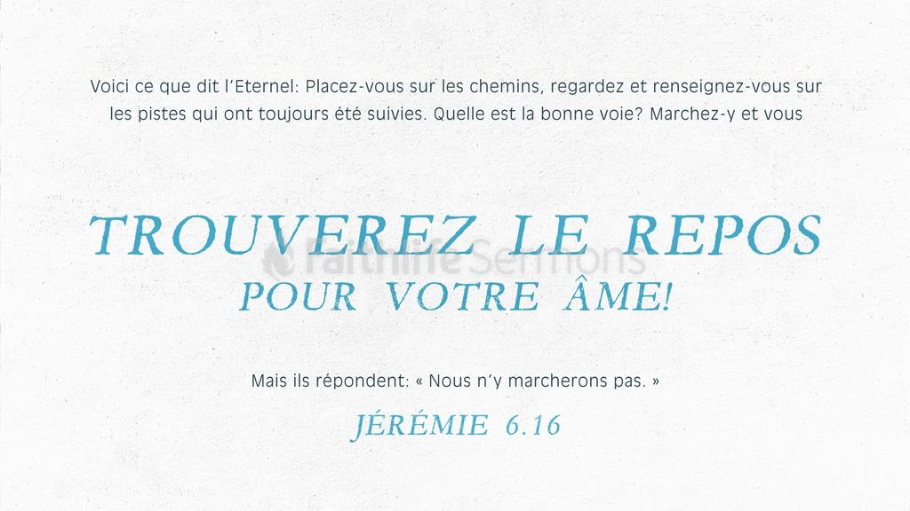 Jérémie 6.16 large preview