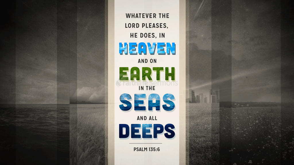 Psalm 135:6 large preview
