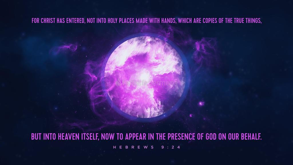 Hebrews 9 24 full preview