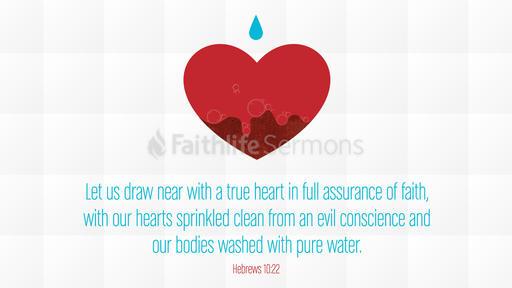 Hebrews 10:22