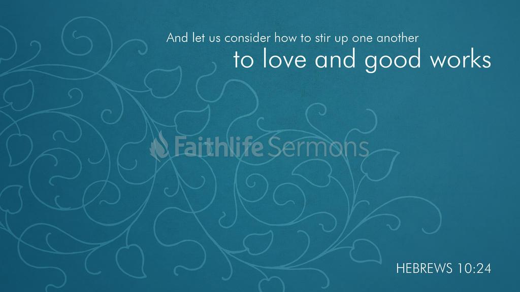 Hebrews 10:24 large preview