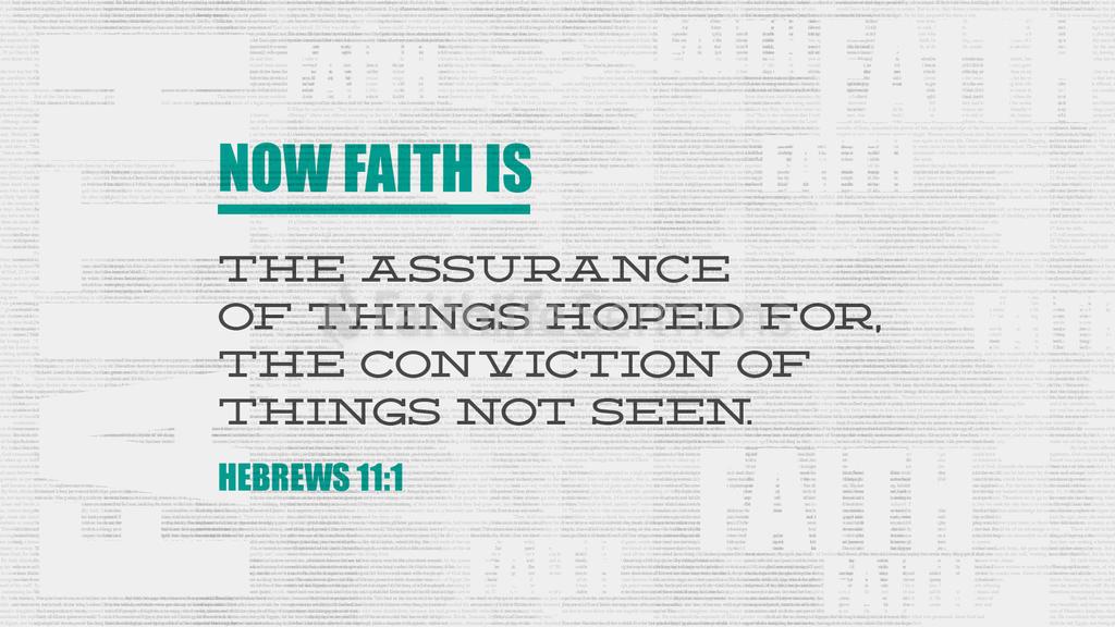 Hebrews 11:1 large preview