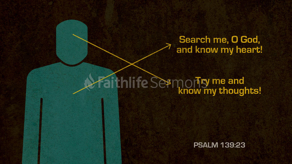 Psalm 139:23 large preview