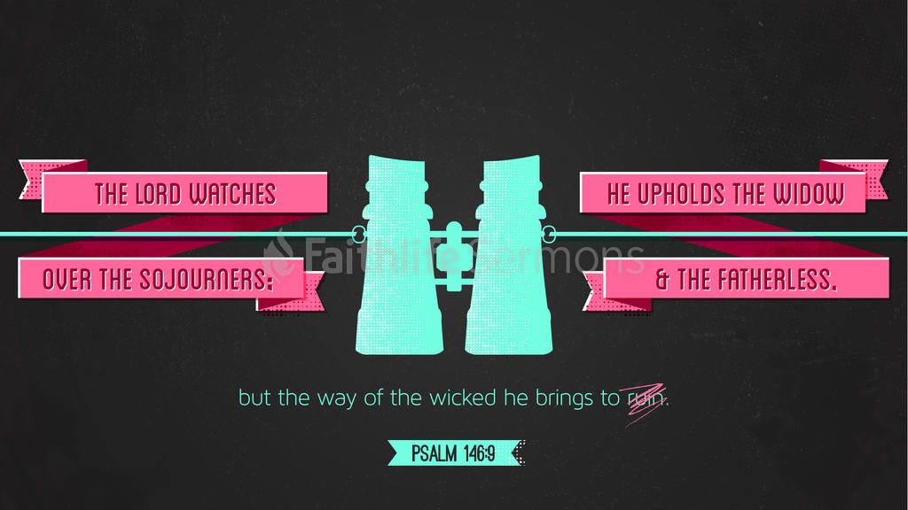 Psalm 146:9 large preview