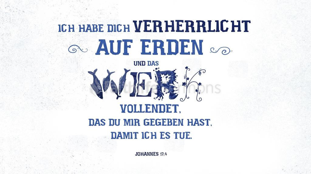 Johannes 17,4 large preview