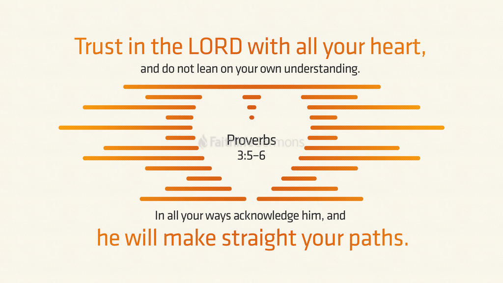 Proverbs 3:5–6 large preview
