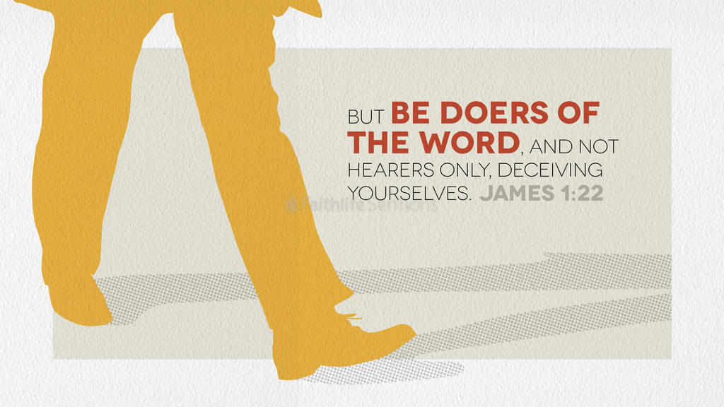 James 1:22 large preview