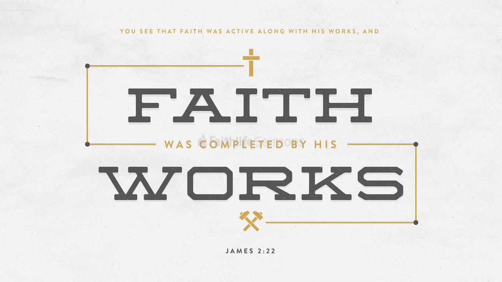 James 2:22 large preview