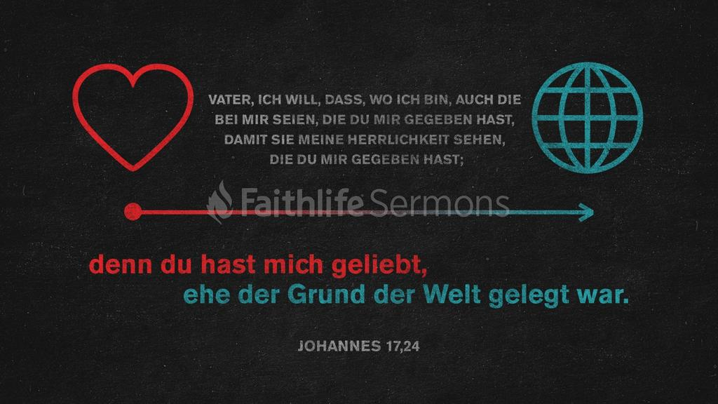 Johannes 17,24 large preview