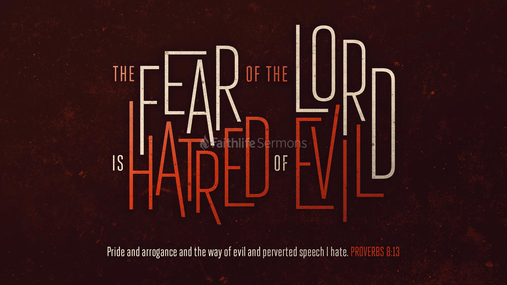 Proverbs 8:13 large preview